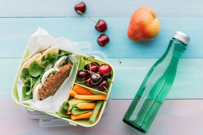 Which are the best nutrients to intake for lunch?