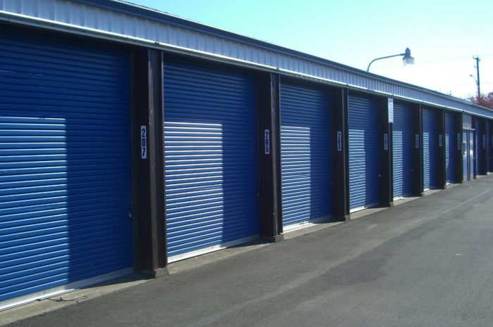 short-term storage facility