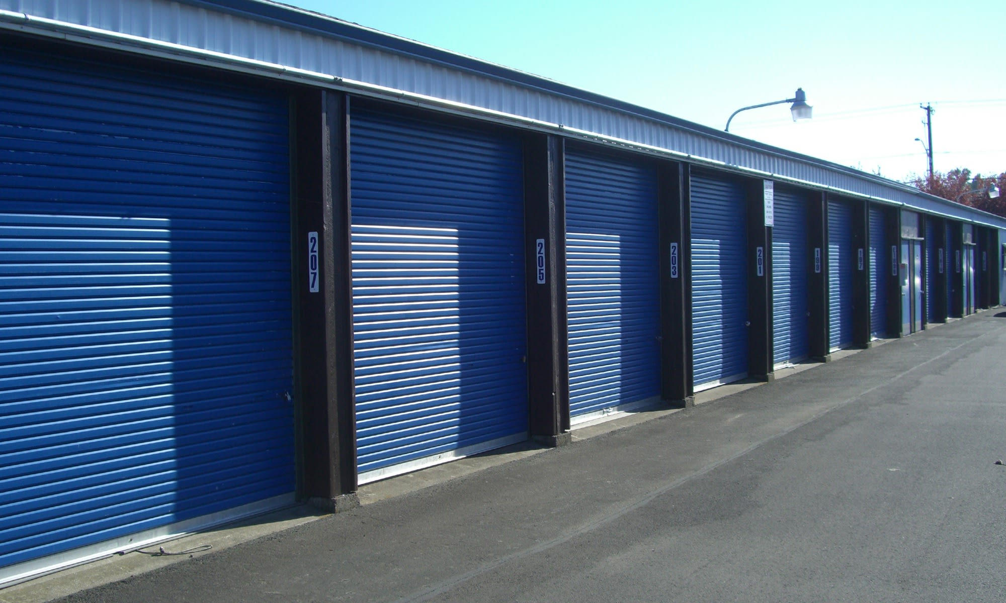 short-term storage facility